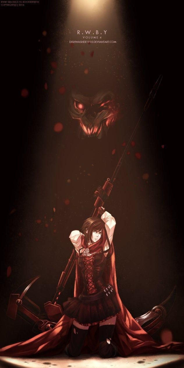 27 best ruby rose images on pinterest rwby fanart red - Ruby rose rule 34 ...