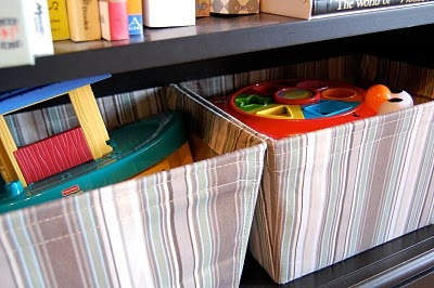 Toy storage and organization for small spaces
