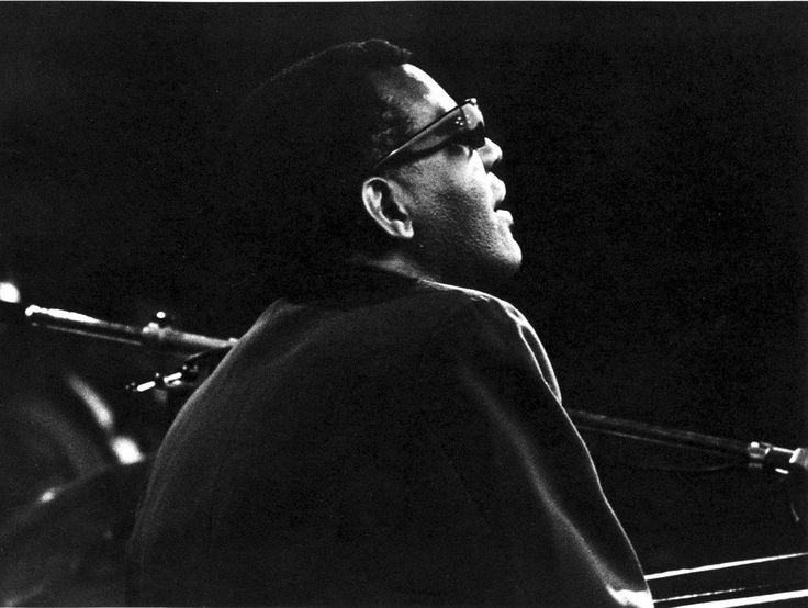 Ray Charles at the Jazz Festival in Comblain-la-Tour on August 9, 1964.