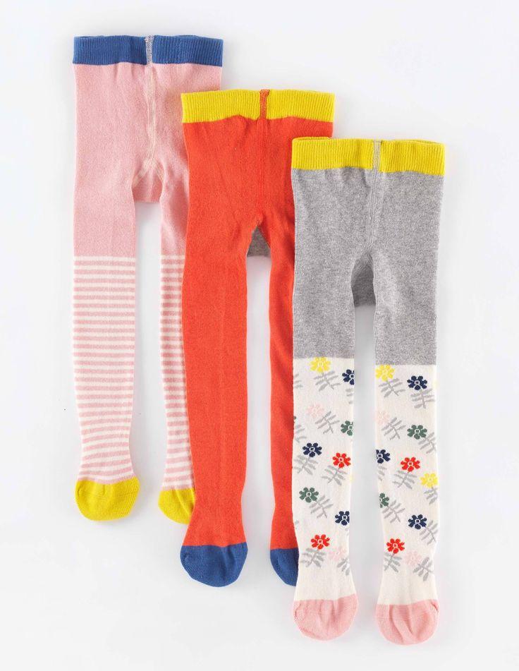 3er-Pack Gemusterte Strumpfhosen 55011 Socken und Strumpfhosen bei Boden