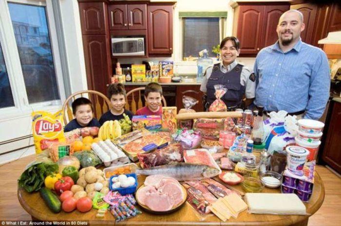 Δείτε ΠΟΣΑ λεφτά ξοδεύουν για το εβδομαδιαίο φαγητό τους οι οικογένειες σε 25 χώρες του κόσμου. Με των Γάλλων θα μείνετε!  #χρήσιμα