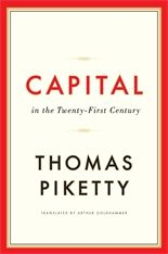 Capital in the twenty-first century / Thomas Piketty ; transl. by Arthur Goldhammer. -- Cambridge ;  London :  Belknap Press of Harvard University Press,  2014.