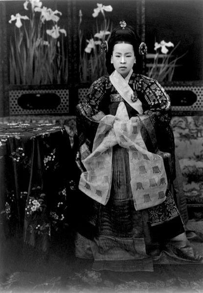 "Wikipedia contributors, ""Empress Sunjeong,"" Wikipedia, The Free Encyclopedia, [http://en.wikipedia.org/wiki/Empress_Sunjeong] (accessed August 14, 2012) | #royalerio #fareasterntrip"