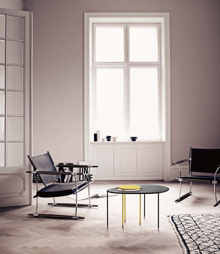Tavolino Kangourou Set 2 tavoli sovrapponibili - Rieditata 50'