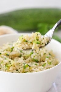 How To Cook Brown Rice Perfectly and Zucchini and Garlic Brown Rice | Olga's Flavor Factory
