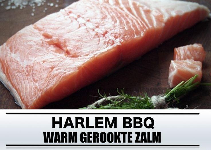 barbecue recept: warm gerookte zalm
