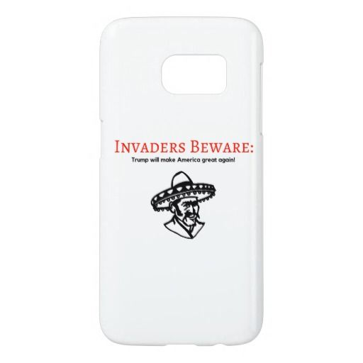 invaders beware case - red