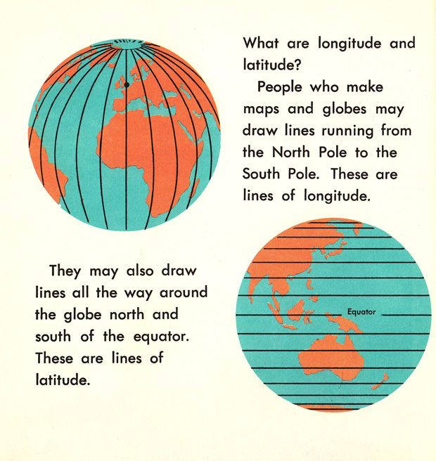 How We Use Maps and Globes: An Illustrated Guide from 1968 | Brain Pickings