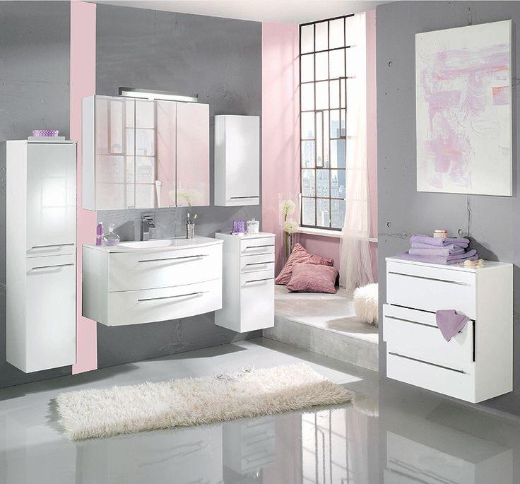 Badezimmer 6 Tlg »PINO« In Hochglanz Weiß Lackiert Jetzt Bestellen Unter:  Https