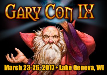 Gary Con is an annual game convention celebrating the life and works of Gary Gygax, the Father of Role Playing Games. We do this by doing what he loved so much in life, playing Games! Join Gary's children, friends and fellow game enthusiasts as we celebrate a life well-played.