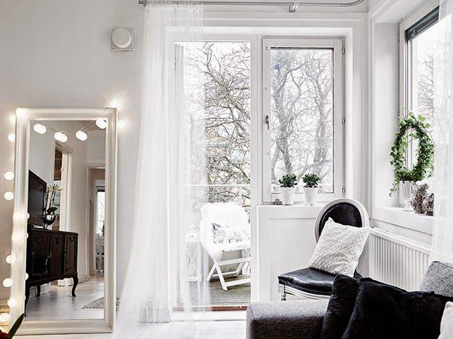 Boho Deco Chic: Un piso en blanco y negro con detalles nórdicos, modernos y románticos!