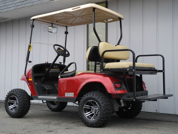 1000 Images About Golf Carts On Pinterest Rear Seat