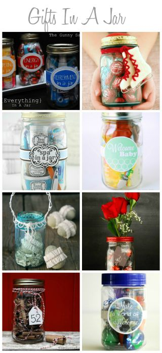 {Everything} In A Jar – Handmade Gifts | Gifts in a Jar. Super Creative