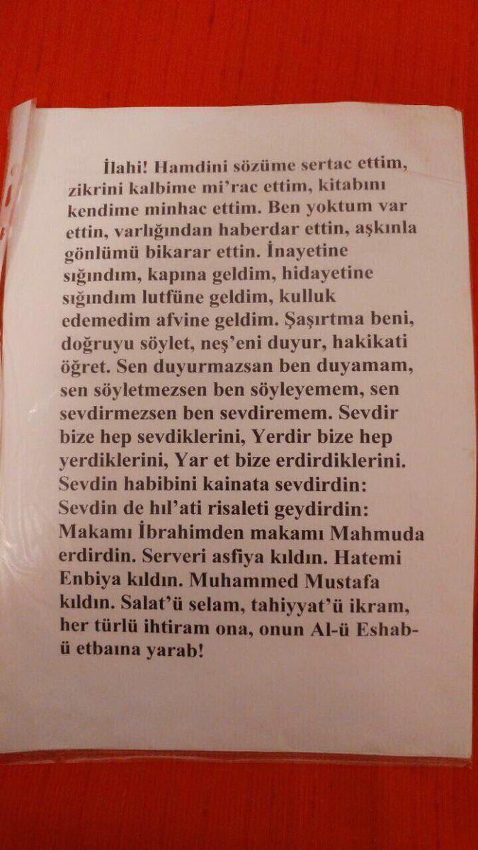 """""""Hak Dini Kur'an Dili Tefsir Kitabı'nın müellifi Elmalılı Muhammed Hamdi Yazır'ın duası...  İlahi! Hamdini sözüme sertac ettim..."""