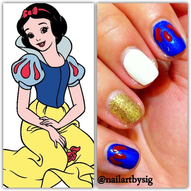 Disney Princess Tiana Waterfall Nail Art: 17 Best Images About Disney Nails On Pinterest