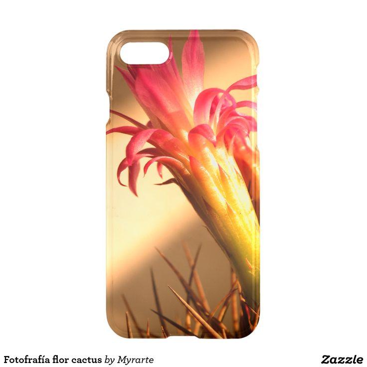 Fotofrafía flor cactus. Producto disponible en tienda Zazzle. Tecnología. Product available in Zazzle store. Technology. Regalos, Gifts. Link to product: http://www.zazzle.com/fotofrafia_flor_cactus_iphone_7_case-256849238049210446?CMPN=shareicon&lang=en&social=true&rf=238167879144476949 #carcasas #cases #flores #flowers