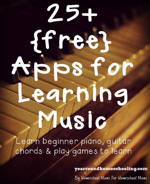Creative Homeschool: 25+ Apps for Learning Music