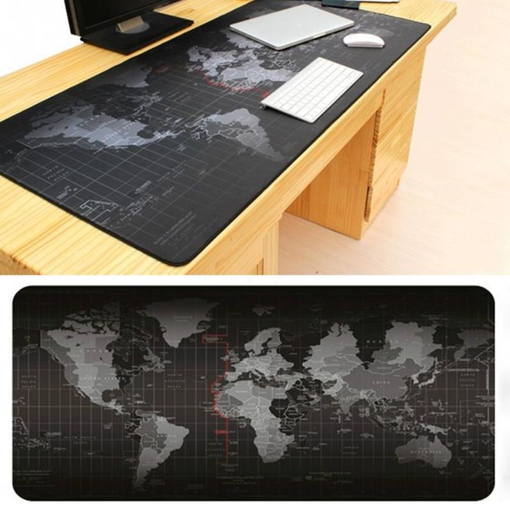 Zimoon Toko Besar Gaming Mouse Pad Peta Dunia Mouse Tikar Meja Pad Keyboard Pad Untuk Dota CS Pergi