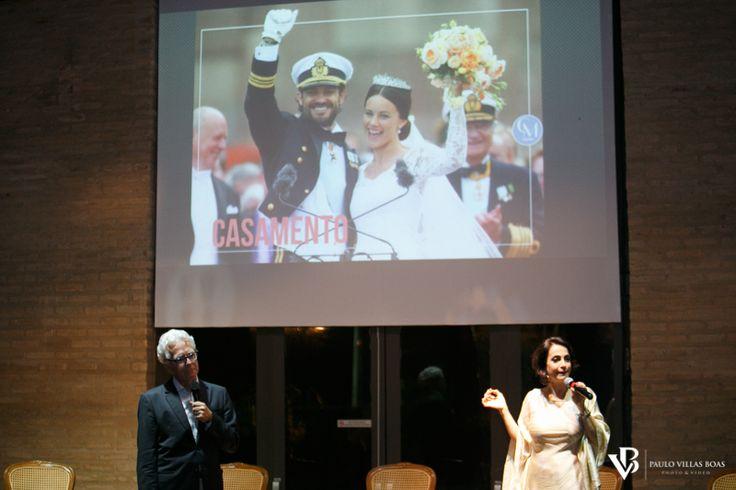 """""""Casar sem Frescura , com Claudia Matarazzo e Mario Ameni, no @VillaCasuarina, em Batatais, um sucesso de eventos, com profissionais do mercado de casamento."""