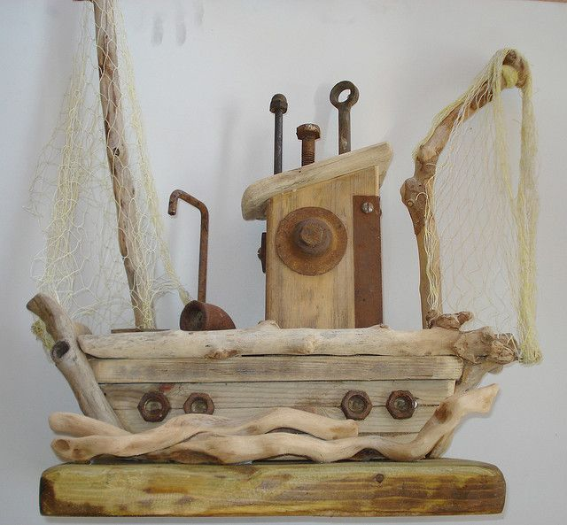154 best images about boat sculptures driftwood for Driftwood sculpture ideas