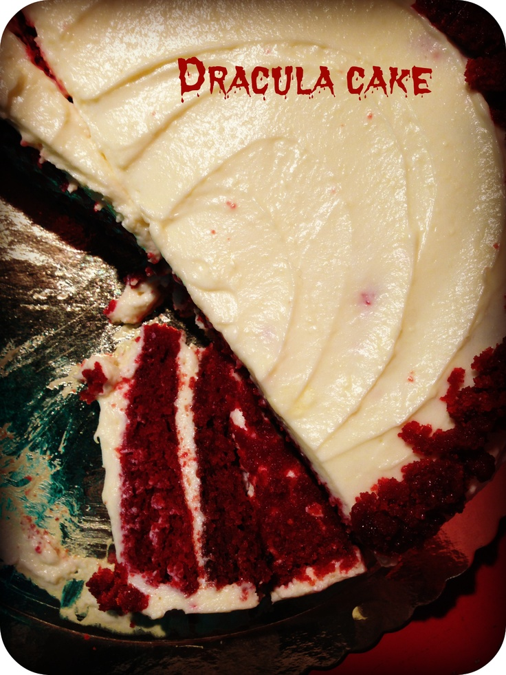 The one and only Dracula Cake! Dare to take a bite? www.ibakeyourpardon.com