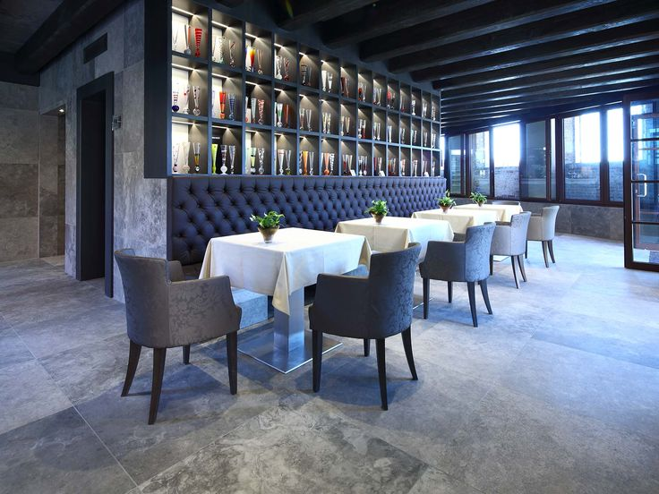 Velvet collection by Casa dolce casa has been used for LaGare Hotel in the famous Murano Island. #stone #tiles #restaurant #hotel #spa #venice #luxury #interiordesign #floor #lagare