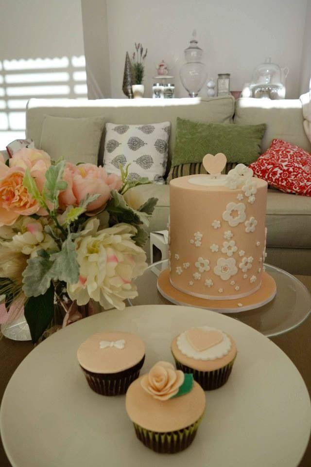 Vintage cake, Vintage Baby shower cakes By http://sugarcloudcakes.com.au