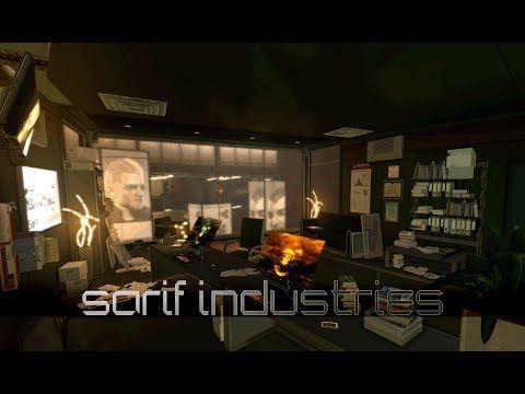 Deus Ex: Human Revolution - Sarif Industries: Jensen's Office [with musi...
