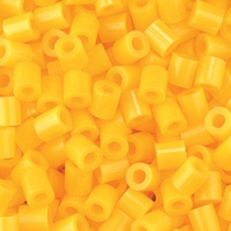 Perline da stirare 1100 pezzi colore giallo, perline a fusione Nabbi beads, pyssla