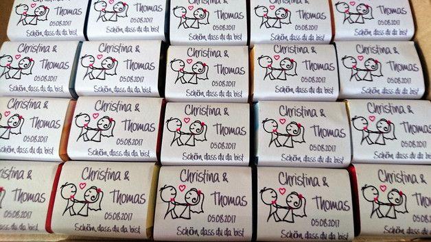 Für jeden Anlass individuelle Schokoladentäfelchen speziell für Deinen Anlass gemischt in 6 Geschmacksrichtungen - FREY SCHOKOLADE 7g Mindestmenge 25 Schokotäfelchen - jede weitere Liefermenge...