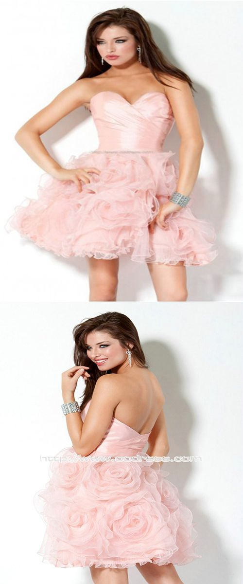 Modern Sweetheart A-line Zipper-up Taffeta Prom Dresses, pink prom dresses, lovely and sexy prom dresses, homecoming dresses , ball gown,