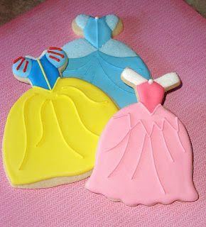 SugarBliss Cookies - Princess dress cookies
