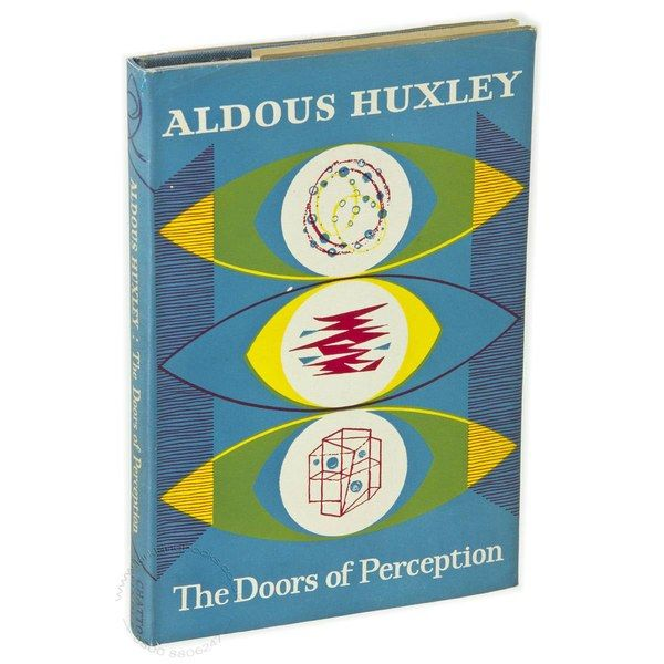 A treasured book, The Doors of Perception, by Aldous Huxley. Courtesy of Solange Azagury-Partridge.