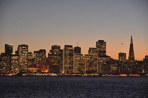 San Francsico Skyline at Sunset | Julie Pimentel | Flickr