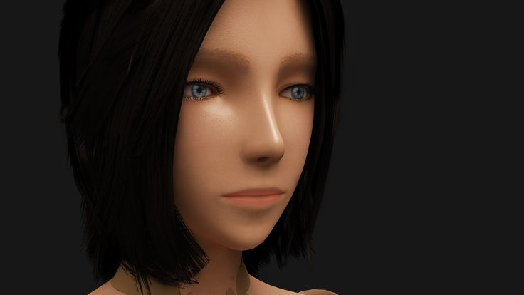 "doll ....the second ...character art ...vtc academy ...after the first "" dont look like game charater """