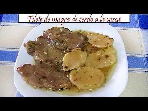 Un viandante in cucina: Filete de magra de cerdo a la vasca