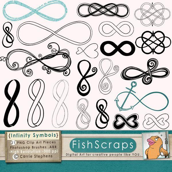 Infinity Symbols - Photoshop Brushes - Wedding Infinity Clip Art   Flickr - Photo Sharing!
