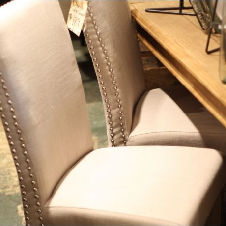 Add Nailhead Trim To My Boring Chairs