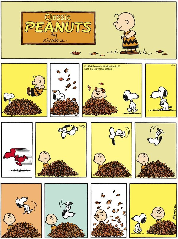 Peanuts by Charles Schulz | October 13, 2013 [First Published 1966]