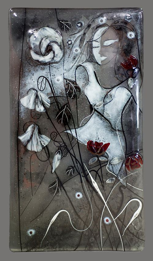Art glass by Jeannie Buchardt
