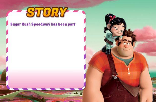 Divertido juego basada en la película de Ralph el demoledor donde tienes que seleccionar el carro