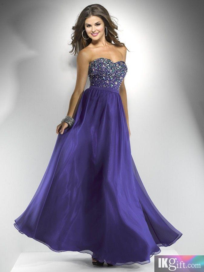 Purple Prom Dresses Cheap Under 100 Dollars