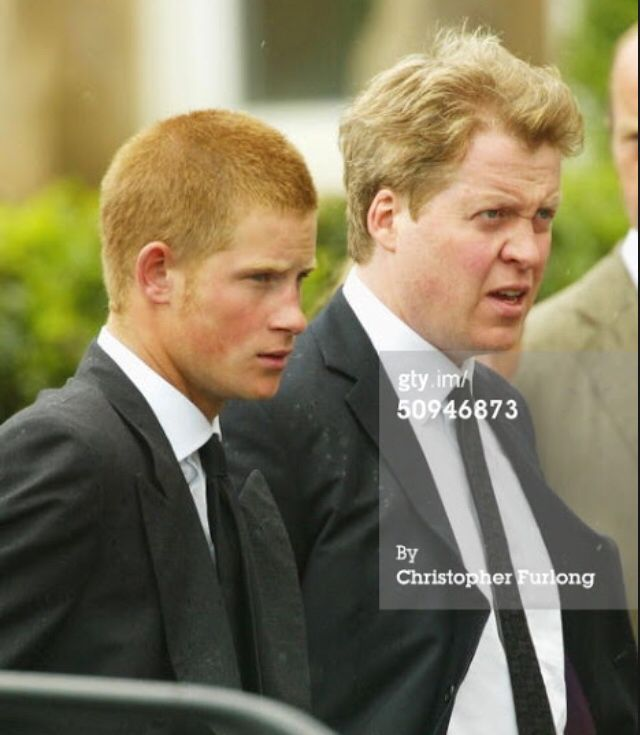 harry and earl spencer diana s brother royals