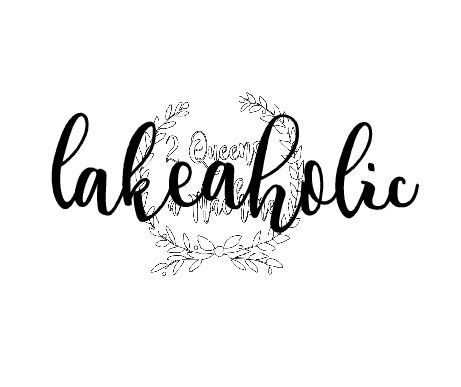 Lakeaholic Lake summer fishing love svg by 2Queensandamachine