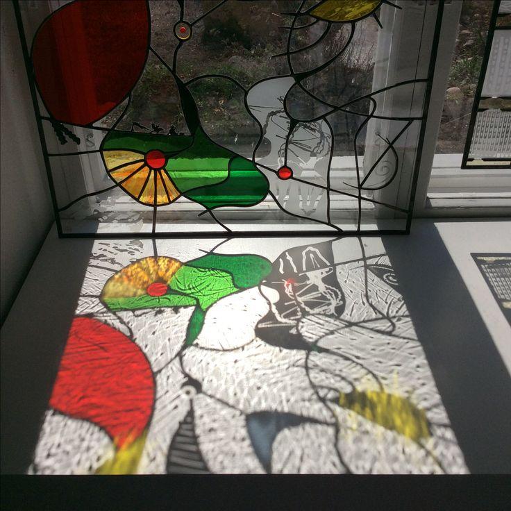 Stained glass  Ateljee Tuire Hämäläinen