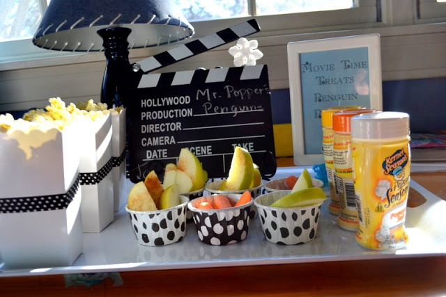 healthy movie snacks  Mr Popper's Penguins  MY PARTY PASSION: Partay with the Penguins!