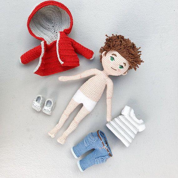 Best 310 muñecas crochet images on Pinterest   Amigurumi doll ...