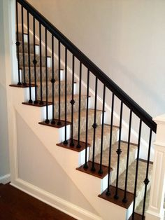 Image Result For Metal Stair Spindles