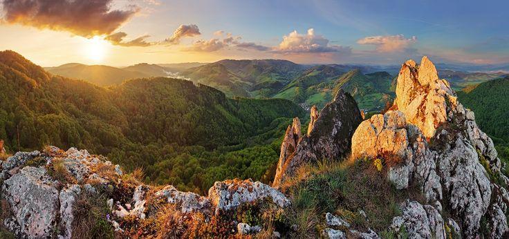 Vrsatec rocks at sunset - Slovakia by Tomas Sereda on 500px