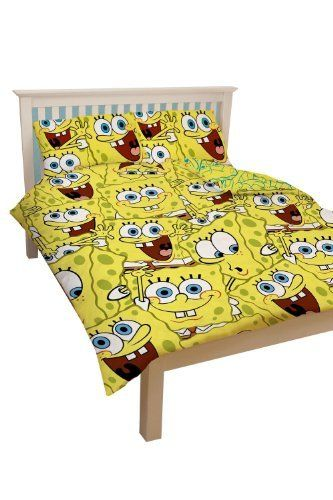 Spongebob Squarepants 'Heads' Duvet Cover Double Rotary by .. $43.88. 100% Polyester Microfibre. 100% Official Licensed Product. Product Size-(cm)-Duvet Cover-200 X 200, Pillowcase-50 X 75cm. Spongebob Squarepants 'Heads' Duvet Cover Double Rotary